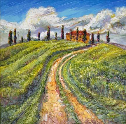 Spring's Escape, Tuscany