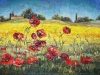 Fields of Joy - original sold • available as canvas prints