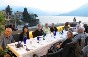 Painting Photography Art Trek Lake Como Italy Scott Williams Niki Gulley