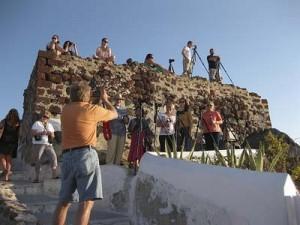 Santorini Greece painting photography art trek niki gulley scott williams