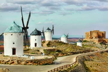 La Mancha windmills ©2015 Photo by Scott Williams