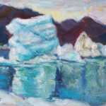 Iceland, contemporary impressionist, daily painting, dallas texas artist, travel art, Niki Gulley paintings