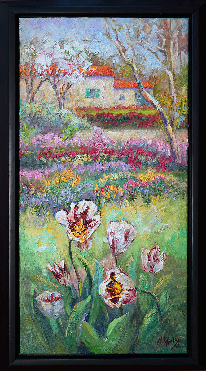 Texas, contemporary impressionist, daily painting, dallas texas artist, travel art, Niki Gulley paintings