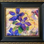 floral, contemporary impressionist, dallas texas artist, floral art, Niki Gulley paintings,
