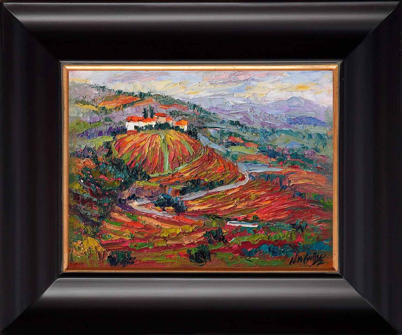 Portugal, contemporary impressionist, dallas texas artist, travel art, Niki Gulley paintings