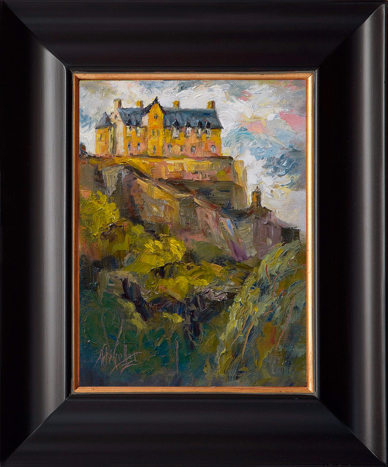 scotland, contemporary impressionist, dallas texas artist, travel art, Niki Gulley paintings