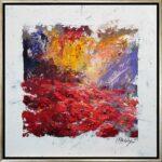 Texas, contemporary impressionist, poppy, dallas texas artist, Niki Gulley paintings