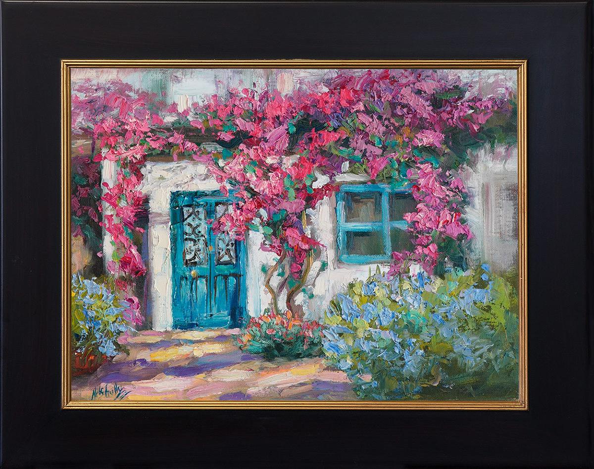 contemporary impressionist, dallas texas artist, travel art, Niki Gulley paintings