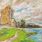 Ireland, contemporary impressionist, dallas texas artist, travel art, Niki Gulley paintings